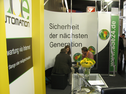 SPS/IPC/Drives  Messe in Nürnberg 2011